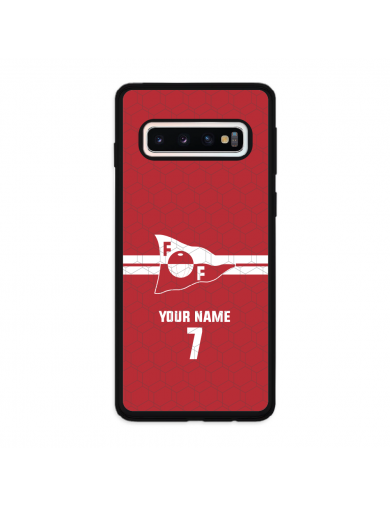 FFK Logo Rød + Navn Og...
