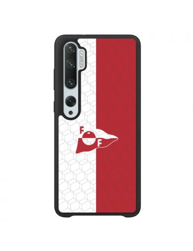 FFK Logo Rød Hvit Deksel